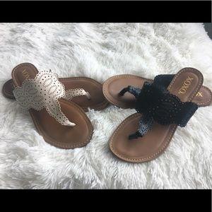 ⬇️ XOXO Sandals Set